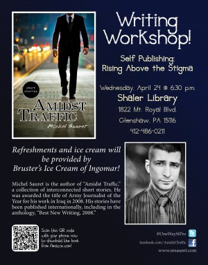 Workshop: Self Publishing – Shaler Library