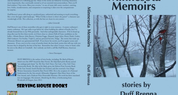 Book Review: Minnesota Memoirs by Duff Brenna