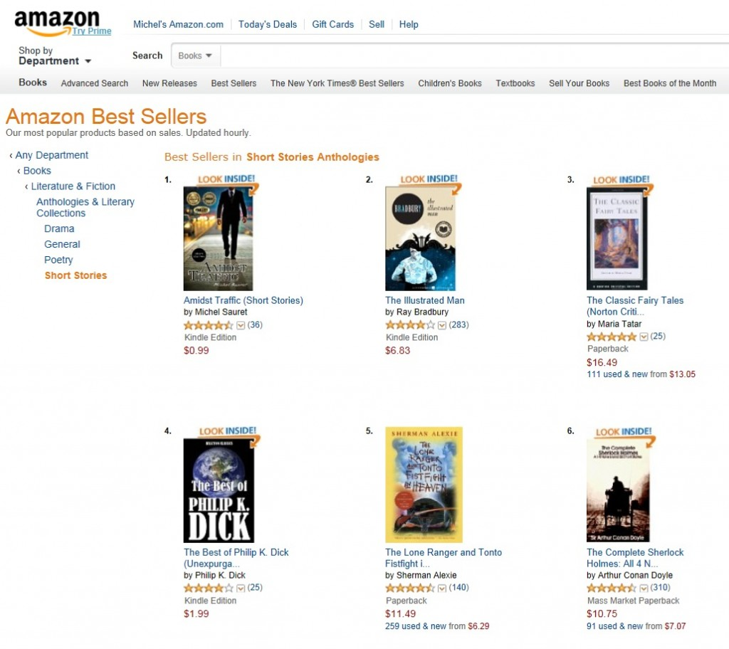 Amidst Traffic Best Selling Short Story Collection