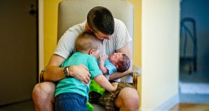 A tale of two births: A father's story of helping his wife through labor twice