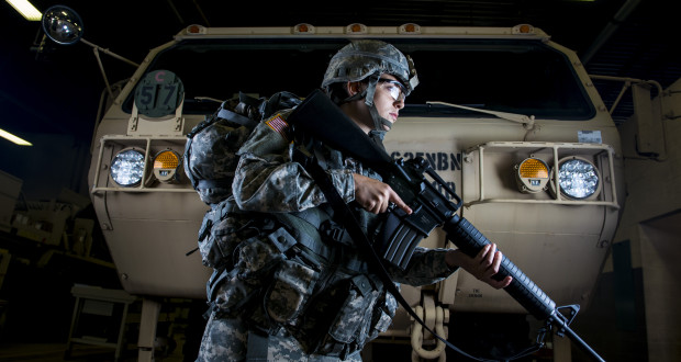 No Barbies on the Battlefield: Stepping into women's combat boots